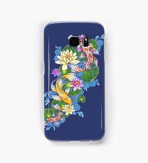 Lotus Koi Pond Samsung Galaxy Case/Skin