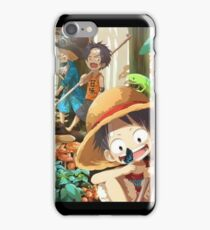 one piece trio iPhone Case/Skin