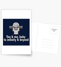 To Infinity & Beyond Postcards