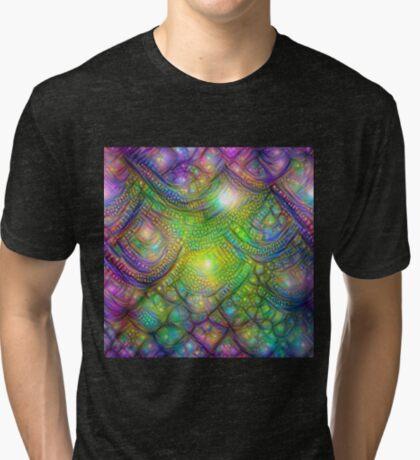 Alien skin #DeepDream Tri-blend T-Shirt