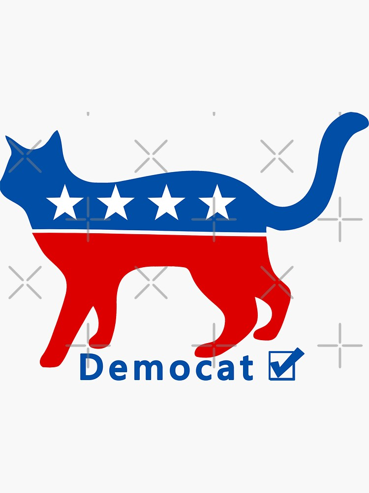 Demokraten DemoCAT Hillary Clinton 2016 von TeeCreations