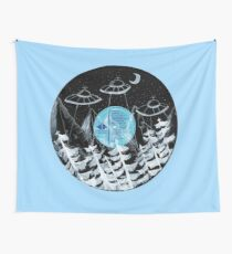 UFO Wall Tapestry