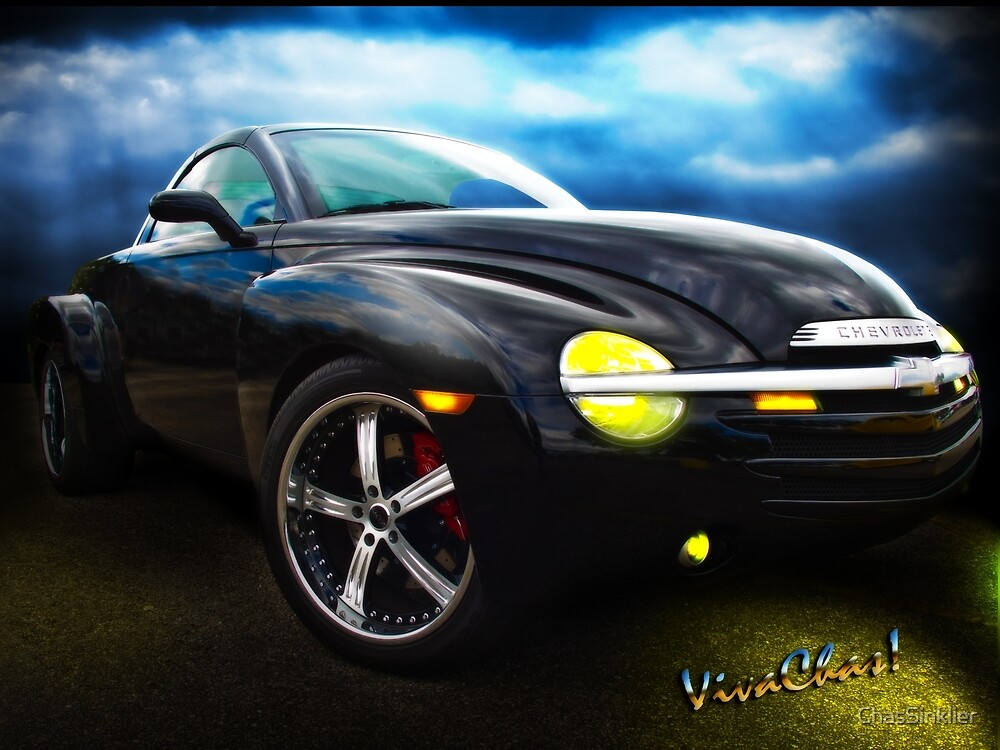 Chevy SSR Night Life – Hot Rods Live Lives All Their Own ~:0) by ChasSinklier