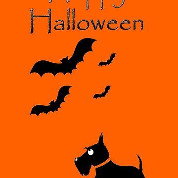 Scottie Dog 'Happy Halloween' by archyscottie