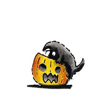 Scottie Dog 'Pumpkin' by archyscottie