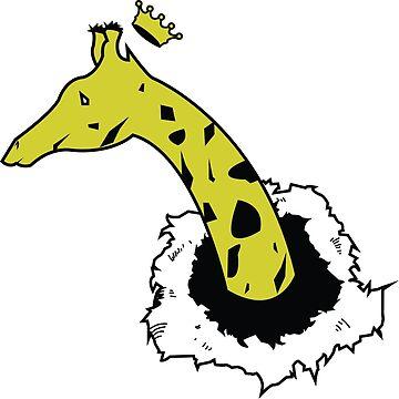 King Giraffe by CreativeClassic