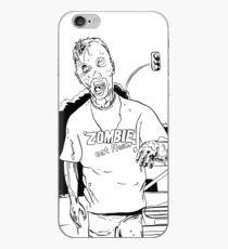 Zombie - Eat Flesh iPhone Case