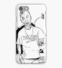 Zombie - Eat Flesh iPhone Case/Skin