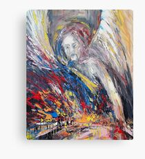 The time of weeping angels Canvas Print