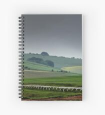 English Country Landscape 4 Spiral Notebook