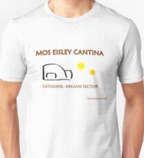 Mos Eisley Cantina Promo Unisex T-Shirt