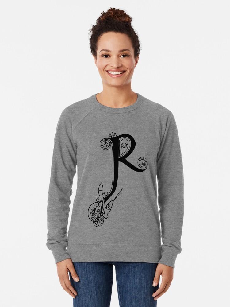 Alternative Ansicht von Kells Buchstabe R Leichter Pullover