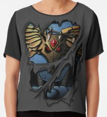 Space Wolves Armor Chiffon Top