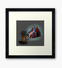 The Lazy One Framed Print