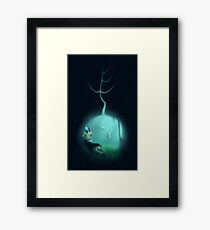Green Grass of Tunnel Framed Print