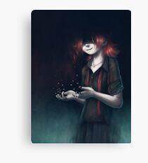 Dissolved Girl Canvas Print