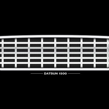 Datsun 1500 Grille - wall art by shiftco