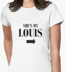She's my Louis Womens Fitted T-Shirt