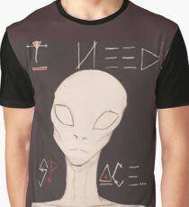 I Need Space Graphic T-Shirt