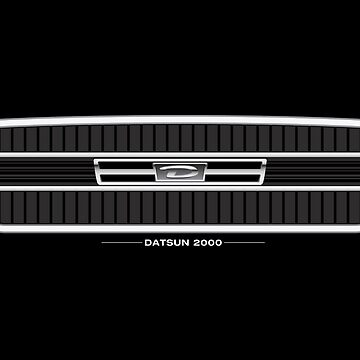 Datsun 2000 Grille - wall art by shiftco