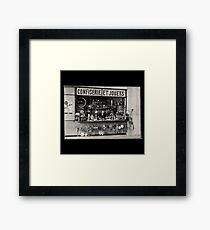 Old Toy Shop Framed Print
