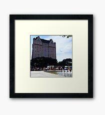 The Plaza Framed Print