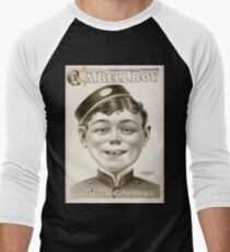 Performing Arts Posters Will F Phillips complicated farcical extravaganza A bell boy 1034 Men's Baseball ¾ T-Shirt