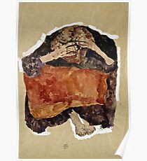 Egon Schiele -Troubled Woman  Poster