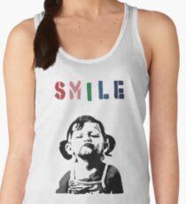 Banksy - SMILE Women's Tank Top