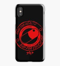 Bad for Education iPhone Case