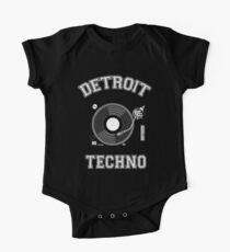 Detroit Techno Baby Body Kurzarm