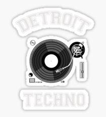 Detroit Techno Sticker