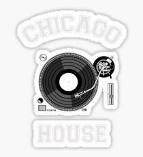Chicago House Sticker