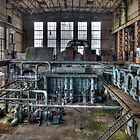 An abandoned powerplant by hanspeters