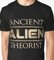 Ancient Alien Theorist Graphic T-Shirt