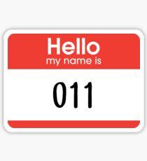 011 – Stranger Things, Netflix Sticker