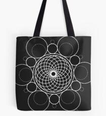 Geometric Circles Overlap Tote Bag