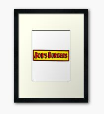 Bobs Burgers Framed Print