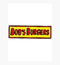 Bobs Burgers Photographic Print