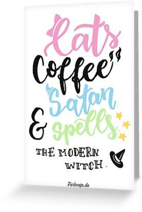 The modern witch! von farbcafe