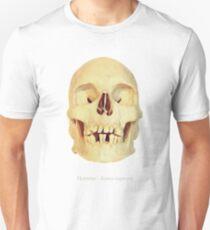 Crâne homme - homo sapiens T-Shirt