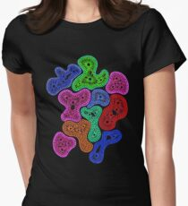 Psychedelic Pattern Women's Fitted T-Shirt