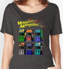 MANIAC MANSION ARCADE ROOM Women's Relaxed Fit T-Shirt