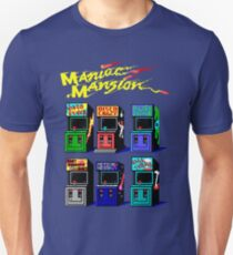 MANIAC MANSION ARCADE ROOM T-Shirt