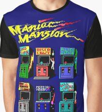 MANIAC MANSION ARCADE ROOM Graphic T-Shirt