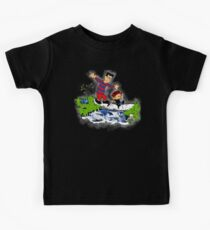 Little Viking and Strong Man Kids Tee