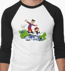 Little Viking and Strong Man Men's Baseball ¾ T-Shirt