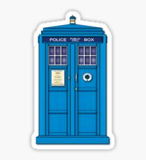The Tardis Sticker
