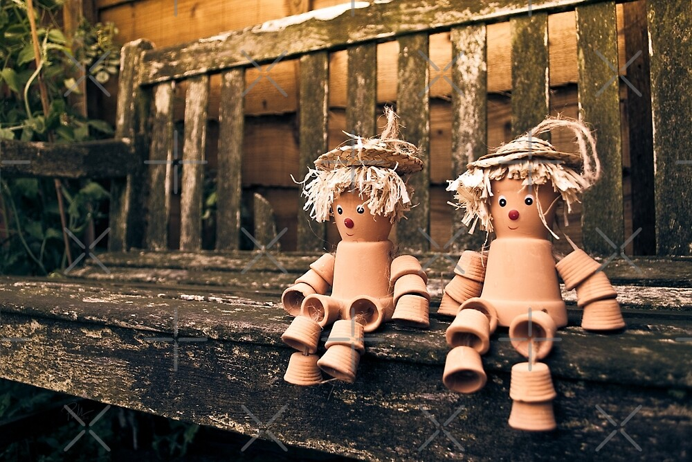 Flowerpot Men by Paul-M-W