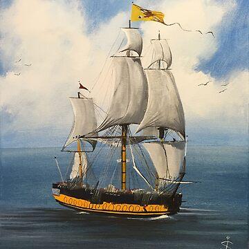 Tall Ship by szymczuk